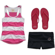 Hollister Summer, created by laurendoubleu on Polyvore