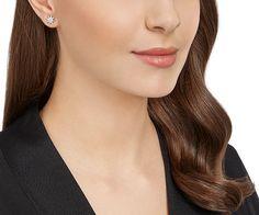 LOVE. Fizzy Pierced Earrings from #Swarovski
