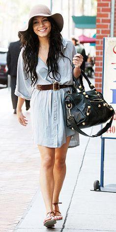 Summer Outfit: Vannessa Hudgens