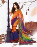 New bright color collection of festive sarees