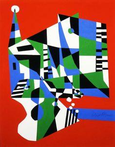 Tournos, Stuart Davis (1954)