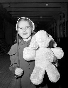 Liza Minnelli at age five.