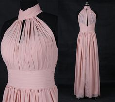 Hey, I found this really awesome Etsy listing at https://www.etsy.com/listing/279801686/blush-pink-prom-dress-longsimple