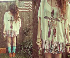 """Teal Cowboy Boots, Forever 21 Colsh Mash Skirt, Urban Outfitters Shirt, H Necklace #1, H Dreamcatcher Necklace, Vintage Purse // """"Back when the flag had fifty stars and thirteen stripes..."""" by Ashlei L // LOOKBOOK.nu"""