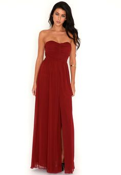 Arabelle Slit Front Maxi Dress ... WOW loving this one too :)))