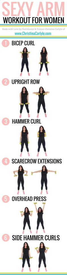 Do your arms make you self conscious? This Arm Workout for Women will help you tighten and tone your arms fast. Try this arm workout for women now. burn fat morning