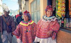 Traditional embroidered blouses from the San Mateo Ixtatan region.    Via Lena Corwin/Hikaru Furuhashi.