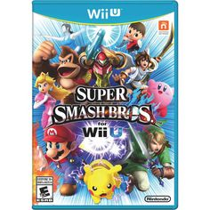 Super Smash Bros comes to Wii U and brings some familiar faces into the fold. At long last, Megaman joins the ranks and brings his arsenal of special attacks into the fray. Villager from Animal Crossing has also been added to the ... Free shipping on orders over $35.