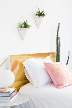Total Headcase: 9 DIY Headboard Ideas #diy #headboard #bedroom