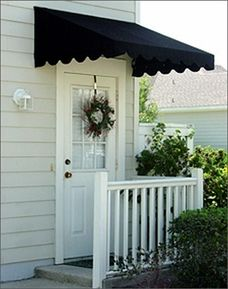 Door Canopies Sunbrella Awning Canvas & Traditional Door Canopy | projects | Pinterest | Traditional Ps ...