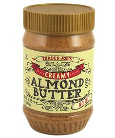 Trader Joe's Creamy Unsalted Almond Butter   According to Real Simple editors, anyway.Take a peek into our grocery carts, and add these favorites to your shopping list.