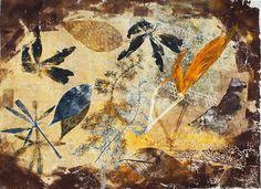 """""""September"""" Monotype September, Painting, Printmaking, Art, Painting Art, Paintings, Painted Canvas, Drawings"""