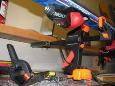 Tuning stand overall view... another diy ski vice | Things ...