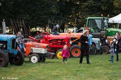 Des tracteurs de toutes marques et de toutes générations