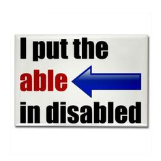 able disabled