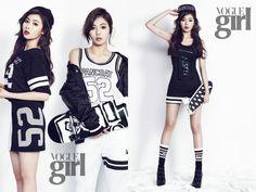 HyunA Brings Sexy Back to Sportswear for Vogue Girl Korea