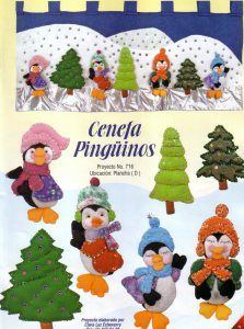 cenefa pinguinos Christmas Crafts, Christmas Ornaments, Diy Sewing Projects, Embroidery Stitches, App, Holiday Decor, Creando Ideas, Home Decor, Google