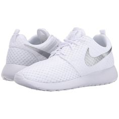 Nike Roshe Run Women's Shoes ($75) ❤ liked on Polyvore featuring shoes, athletic shoes, sneakers, nike, woven shoes, lace up shoes, traction shoes, laced up shoes and patterned shoes