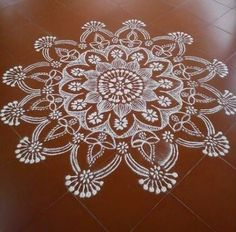 Simple Kolam Designs for Ganpati