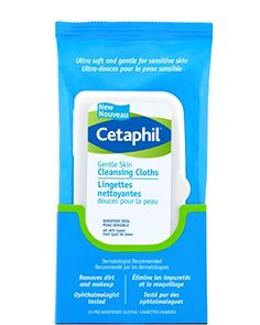 Cetaphil Gentle Skin Cleansing Cloths, Dry Sensitive Skin, 25 Count (Pack of Thoroughly removes dirt and makeup without irritation. Ultra soft and gentle for even the most sensitive skin. Dermatologist developed and tested. Great for travel. Skin Dermatologist, Home Remedies For Skin, Dry Sensitive Skin, Dry Skin, Cetaphil, Facial Skin Care, Cloths, Count, Skin Whitening