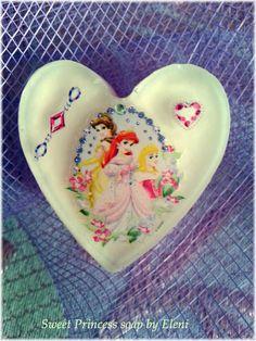 Ο ΝΕΡΑΙΔΟΚΗΠΟΣ της Eλενης-Aντζελινας!/Χειροποιητα σαπουνια-καλλυντικα/ΕLENI'S FAIRY GARDEN: Sweet Princess soap Once Upon a Time Series by Eleni