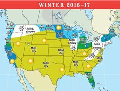 A sneak peek at the winter weather forecast for is out, and Michael Steinberg explains the winter weather predictions for the United States and Canada, from The Old Farmer's Almanac.