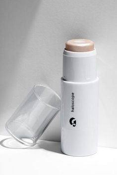 """I never met a highlighter I even remotely liked until this one. It's the perfect size to glide across your cheekbones, it blends in easily when you tap, tap, tap it with your fingers, and it never looks sparkly in the sun.""Glossier Haloscope Face Highlighter in Quartz, $22, available at Glossier. #refinery29 http://www.refinery29.com/best-beauty-products#slide-13"