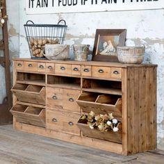 Pallet Kitchen Cabinets, Kitchen Cabinet Design, Rustic Cabinets, Rustic Kitchen Design, Farmhouse Storage Cabinets, Kitchen Layout, Rustic Design, Kitchen Buffet Cabinet, Rustic Chic Kitchen