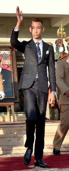 Prince Moulay El Hassan du Maroc, 17 septembre 2017, Présidé le remise des trophées du concours hippique, Tatouant (Maroc)