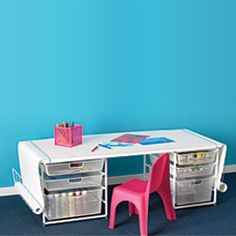 Absolutely Love This Idea For A Kids Craft Coloring Table You Can