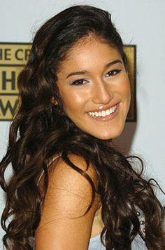 Actress Q'Orianka Kilcher- Dad is Peruvian Indian (Quecha-Huachipaeri) and mum is Swiss. Second cousin of singer Jewel.