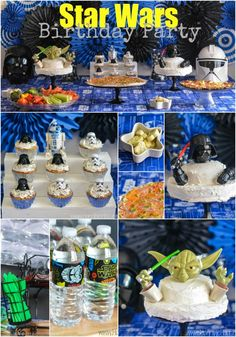 Star Wars Birthday Party | http://horriblehousewife.com/2014/02/star-wars-birthday-party/