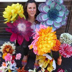 Paper Flowers, Organic, Garden, Garten, Lawn And Garden, Gardens, Gardening, Outdoor, Yard