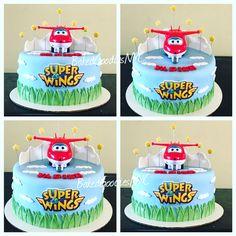 Znalezione obrazy dla zapytania super wings birthday cake