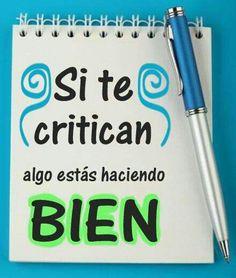 Si te critican