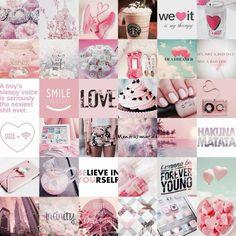 pink pastel collage - Recherche Google