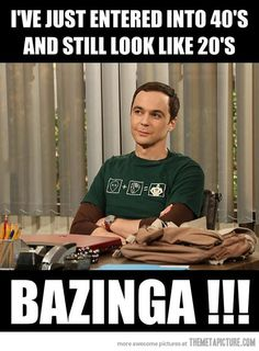 Happy 40th Birthday Jim Parsons…  Note that his last name is Parsons. I think we've just discovered the secret to why my sister and I look 15....
