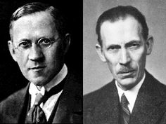 Thomas Martin Lowry (1874 -1936) & Johannes Brønsted (1879 - 1947)