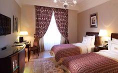 Set on the beautiful Caspian Sea Jumeirah Bilgah Beach Hotel is Baku's first five-star luxury resort. Istanbul Hotels, Palace Hotel, Neoclassical, Hotels And Resorts, Twin Room, Rose, Restaurant, Istanbul Turkey, Luxury