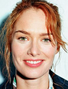 Lena Headey red  ~such a nice down-to-earth lass~ <3