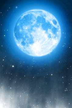 Blue moon iPhone wallpaper and background Abstract Iphone Wallpaper, Wallpaper Backgrounds, Wallpapers, Galaxy Wallpaper, Nature Wallpaper, Stars And Moon, Over The Moon, Broken Tattoo, Digital Foto