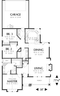 Cabin Floor Plans together with 36198 Primary Drain Line in addition Traditional One Story House Plan 80296pm further Home Plans in addition Small Beach House Plans With Porches. on one story roof plans