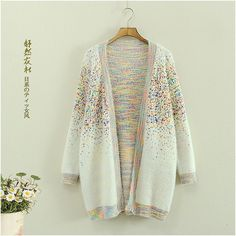 "Harajuku fashion printing sweater coat   Coupon code ""cutekawaii"" for 10% off"