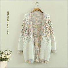 "Harajuku fashion printing sweater coat   Coupon code ""cutekawaii"" for 10% off"