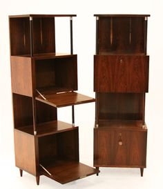 Brazilian Rosewood Bar or Cabinet by Joaquim Tenreiro | From a unique collection of antique and modern dry bars at http://www.1stdibs.com/furniture/storage-case-pieces/dry-bars/