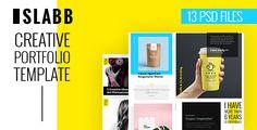 Slabb — Creative Portfolio PSD Template (Portfolio) - http://wpskull.com/slabb-creative-portfolio-psd-template-portfolio/wordpress-offers