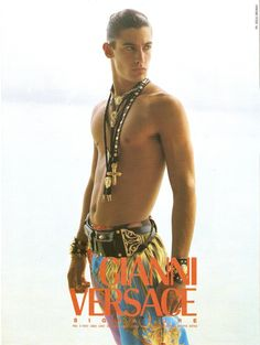 GIANNI VERSACE Signature featuring HANSEL RODRIGUEZ photographed by DOUG ORDWAY