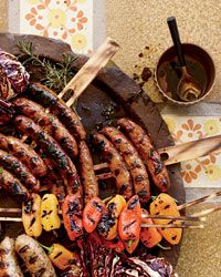 Sausage Mixed Grill with Balsamic Vinaigrette Recipe on Food & Wine