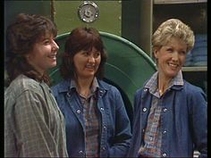 """Inmate """"Phyllis Hunt"""" (Pictured Centre). Played by actress Reylene Pearce"""