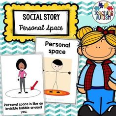 This social story is a great read for students who may need some support with understanding personal space - whether this is where they are ones who Autism Teaching, Autism Classroom, Special Education Classroom, Classroom Behavior, Social Stories Autism, Autism Resources, Teaching Resources, Classroom Resources, Teaching Ideas